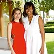 Španska kraljica gostila svojo prijateljico Michelle Obama