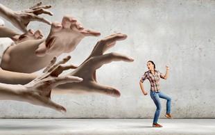 V življenju nas je neprestano strah, pri čemer gre večinoma za lažen strah!