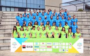V Rio prispeli prvi slovenski olimpijci