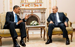 Vladimir Putin in Barack Obama: Dve ikoni, dve različni zgodbi