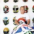 Aldo Drudi je za Rossija naredil že več kot 60 dizajnov čelad!