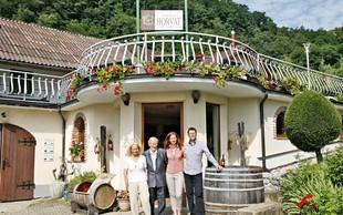 Uspešna vinarska družina Horvat s 55-letno tradicjio