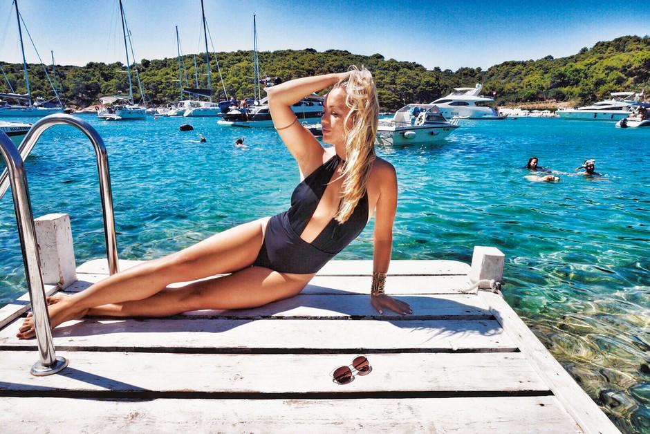 Katarina Benček: Vroče poletje seksi Katarine (foto: osebni arhiv)