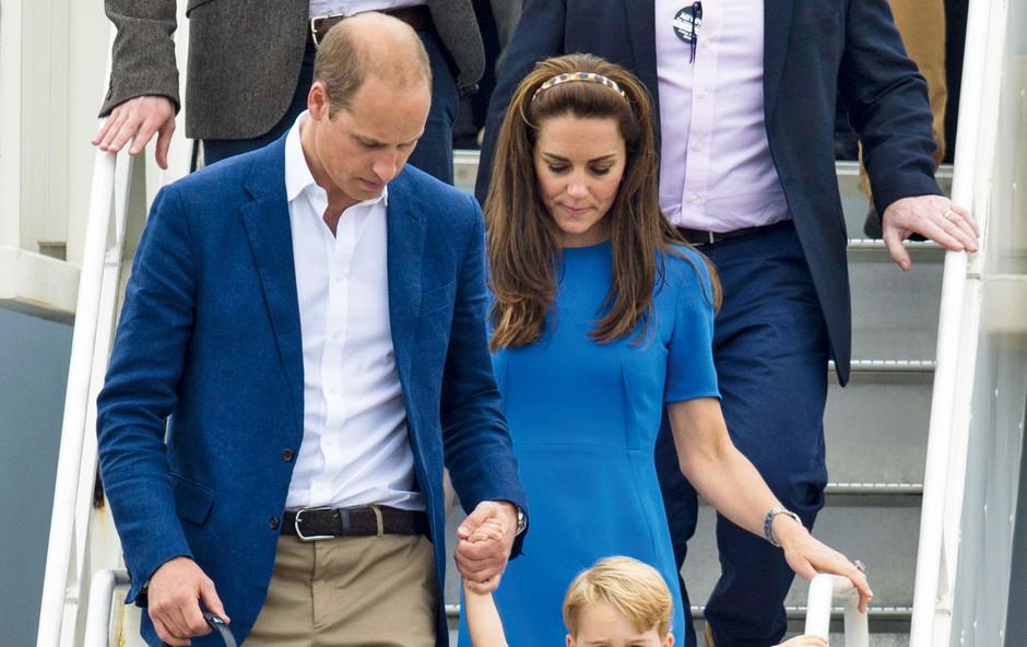 Princ William in vojvodinja Kate: Službeno bosta obiskala Kanado (foto: Profimedia)