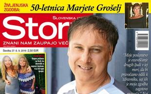 Ozaveščanje o svoji bolezni si je Tomaž Ahačič vzel za poslanstvo, piše nova Story!
