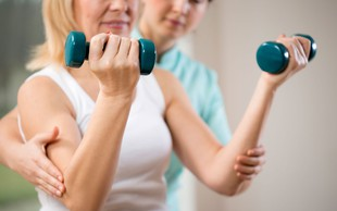 Fizioterapevti so motivatorji