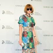 Kraljica mode, urednica revije Vogue Anna Wintour.