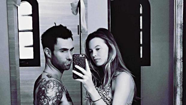 Adam Levine in Behati Prinsloo: Postala sta starša! (foto: Profimedia)
