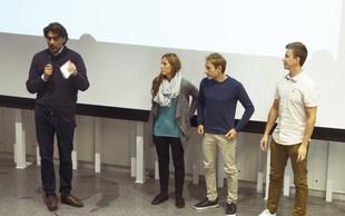 Zmagovalna ekipa prvega MP podjetniškega vikenda je Grippy