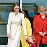 Princesa Kate: Z izborom oblačil navdušila Kanadčane in svet (foto: Profimedia)