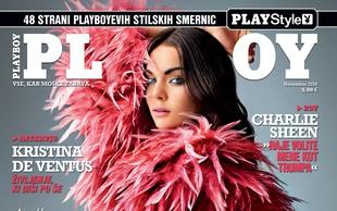 Novi Playboy z intervjujem plesne prvakinje Kristine De Ventus!