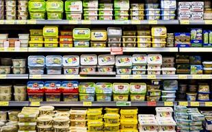 Margarine v trgovini so skoraj brez škodljivih trans maščob!