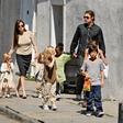 Brad Pitt: Srečanje z otroki ga je spravilo v jok