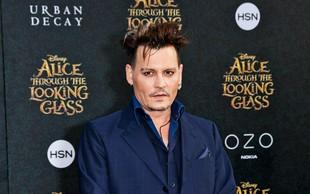 Johnny Depp: Spregovoril o težkem obdobju