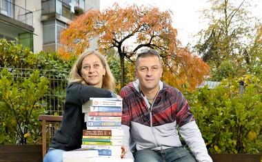 Renate in Samo Rugelj: »Vsak mesec izdamo dve knjigi.«