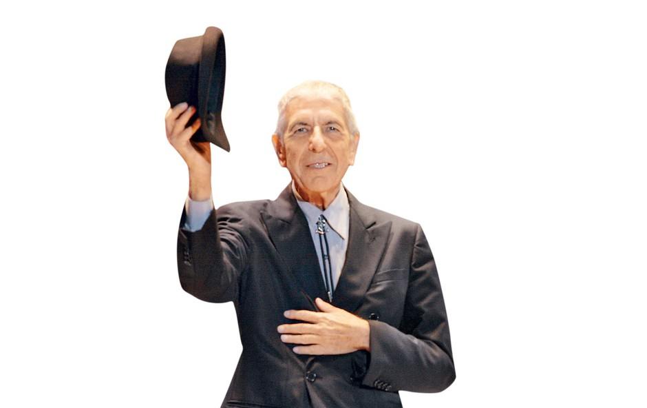 Poslovil se je Leonard Cohen (foto: Profimedia)