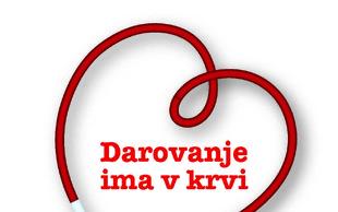 Zahvala ob zaključku letošnje krvodajalske iniciative Daruj energijo za življenje!