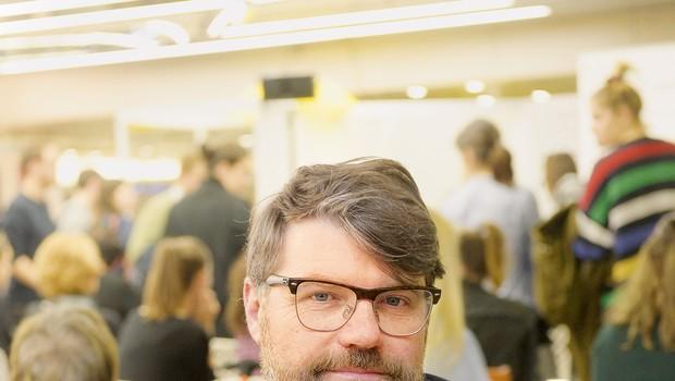 Luka Novak: Založništvo je majhna branža, ki je pomembna za razvoj naroda (foto: Primož Predalič)