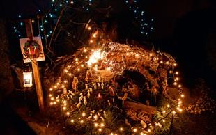 Otroške oči bodo v teh božičnih vaseh zares zasijale