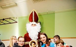 Miklavž je obiskal tudi otroke s čustveno in vedenjsko motnjo v zavodu Planina