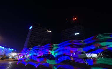 LED motion bodo na finalu Slovenija ima talent premagali gravitacijo!