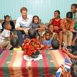 Princ Harry je obiskal zlorabljene, zanemarjene in revne otroke