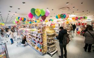 V Ljubljani veselo v novi dm prodajalni