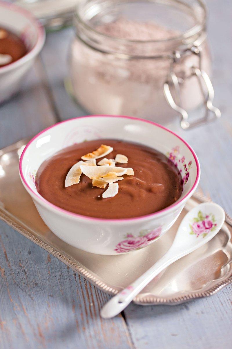 Praznična čokoladna mešanica za puding