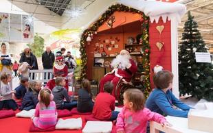 Citypark bo jutri še zadnjič letos obiskal Božiček