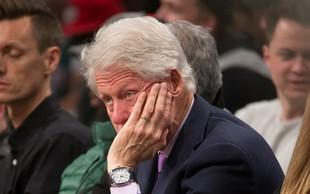 Bill Clinton in Donald Trump se pričkata, kdo je koga prej poklical!