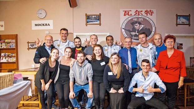 Ekipa, ki je zaslužna, da je projekt Na OFF zaživel. (foto: Miha Vidrih)