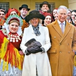Princ Charles in Camilla poslala čestitko s fotografijo posneto na Hrvaškem