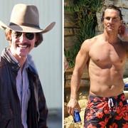 Matthew McConaughey je za vlogo v drami Klub zdravja Dallas izgubljal 4 kilograme na teden.