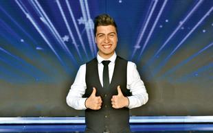 Luka Sešek (Slovenija ima talent) si želi, da bi skupaj z očetom kaj ustvarila