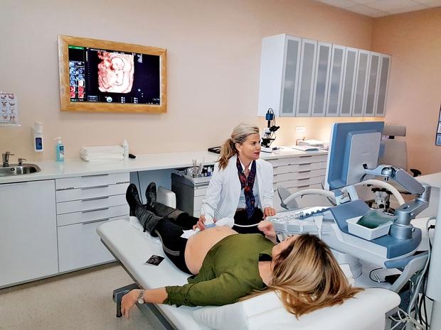 Stančka je opravila tudi pregled Nifty, ki je zelo zanesljiv in v nasprotju s tradicionalnimi testi, kot je amniocenteza, ni invaziven. (foto: osebni arhiv)