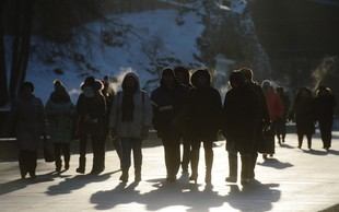Polarni mraz: V Rusiji so praznovali najhladnejši božič v 120 letih!
