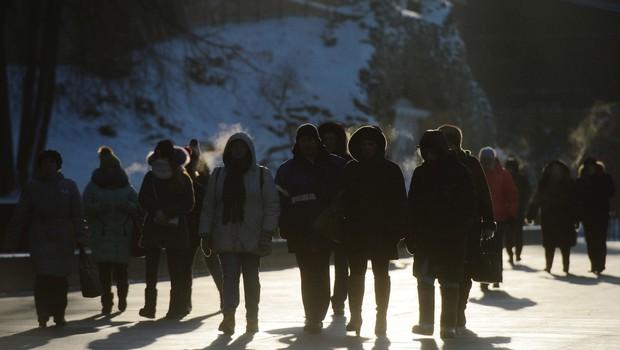 Polarni mraz: V Rusiji so praznovali najhladnejši božič v 120 letih! (foto: profimedia)