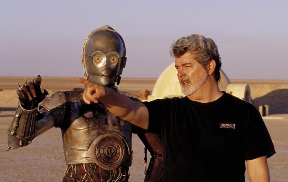 George Lucas bo lahko gradil svoj muzej v Los Angelsu (foto: profimedia)