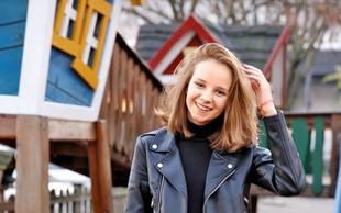 Igralka Ronja Matijevec Jerman je mlada vzhajajoča zvezda slovenskega filma