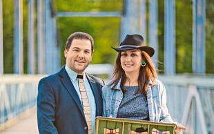 Tina Krajnc (Moi) ustvarja lesene metuljčke tudi za ženske