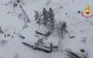 Italija: Plaz zasul hotel, v katerem je bilo najmanj 27 ljudi! Več mrtvih, številni ranjeni!