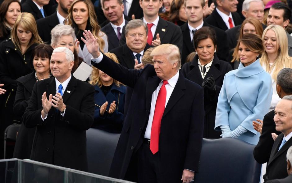Donald Trump je prisegel kot 45. predsednik ZDA (foto: profimedia)