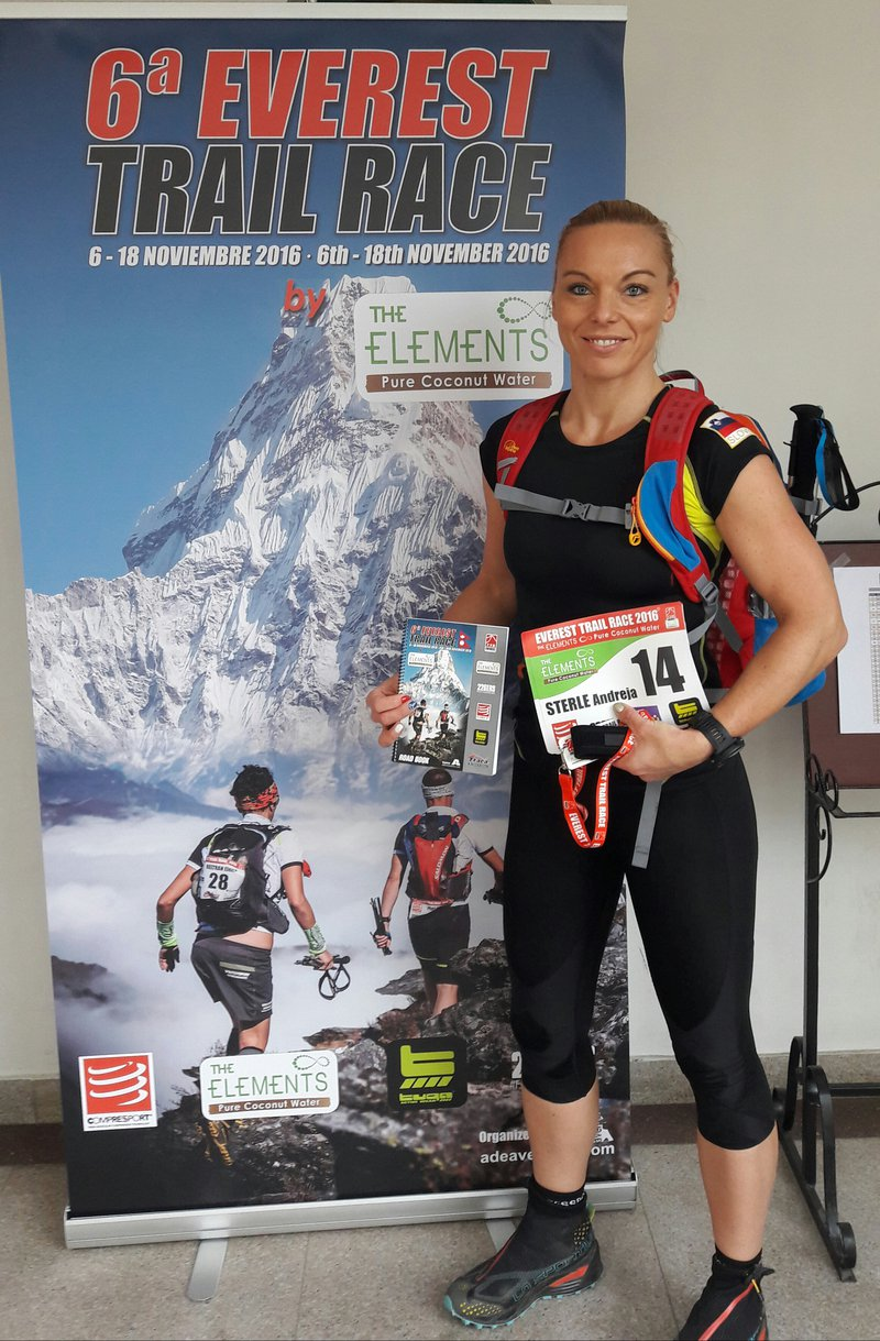 Andreja Sterle Podobnik, ultramaratonka