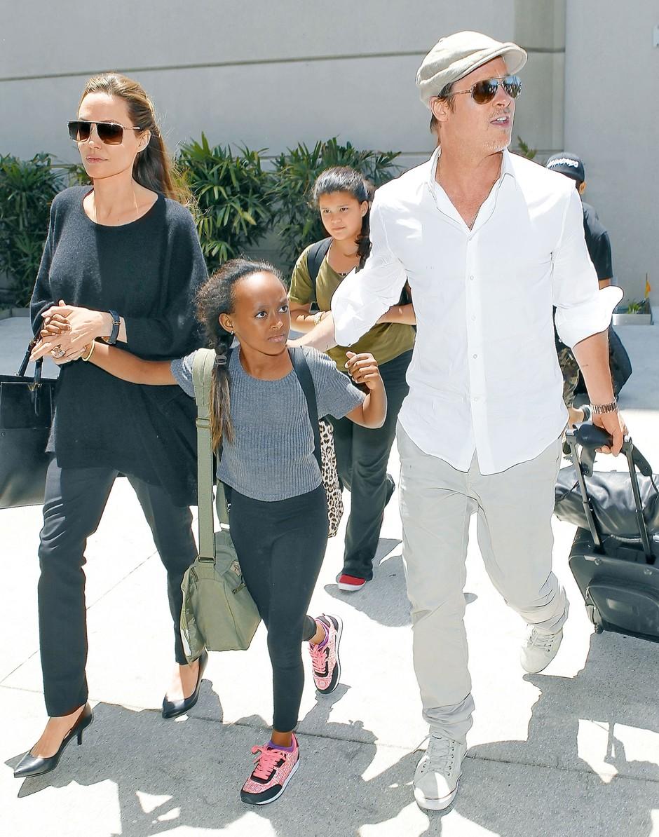 Biološka mama Zahare Jolie-Pitt želi stopiti v stik z njo (foto: Profimedia)