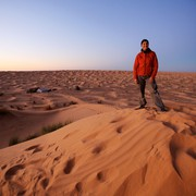 Brezkončna prostranstva saharskega peska so še posebej navdihujoča.