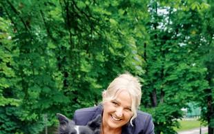 Alenka Godec je v skrbeh zaradi psičke