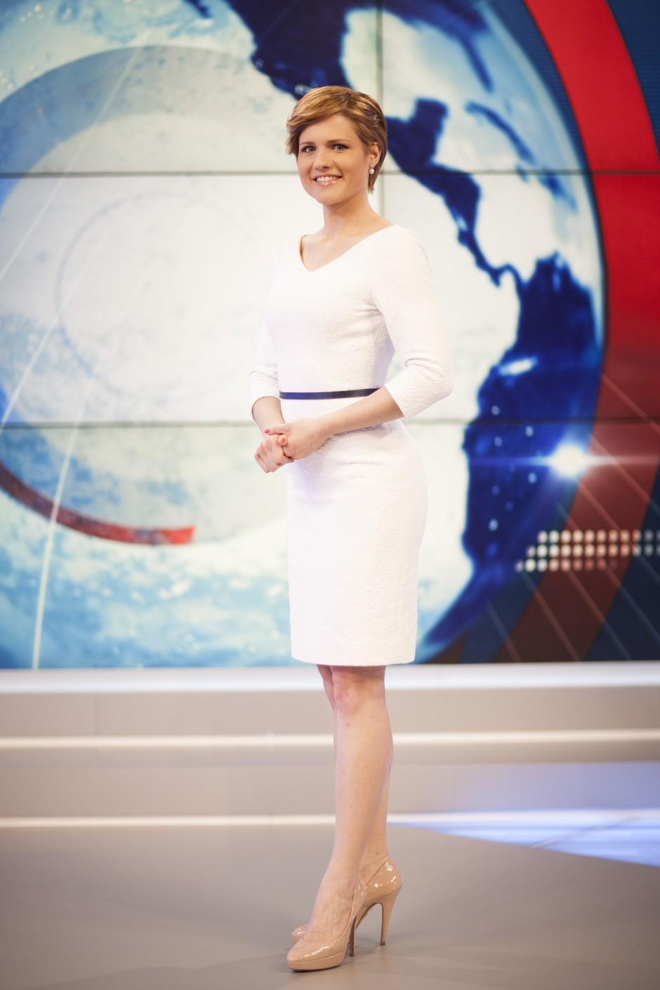 Anja Markovič je nova voditeljica informativne oddaje Planet Danes! (foto: Planet TV)