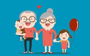 Stari starši: Pot do vnukov vodi prek staršev!