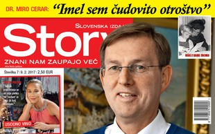 Premier dr. Miro Cerar za Story o sebi, svojem otroštvu in novi partnerki Mojci!