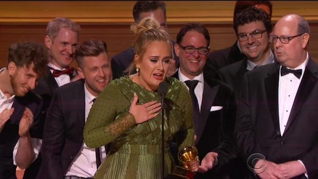 Grammyje za album, pesem in posnetek leta je osvojila Adele! (foto: profimedia)